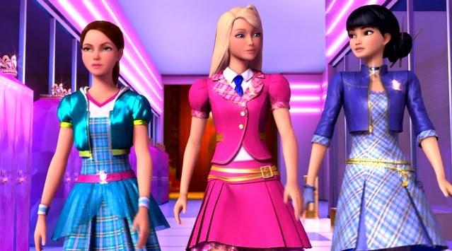 Barbie Charm School Hd Wallpapers Princess Charm School Students
