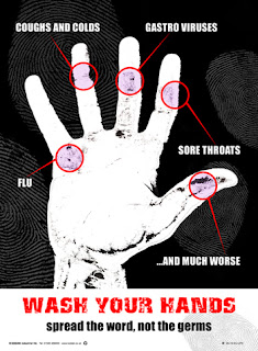 Hand-washing posters