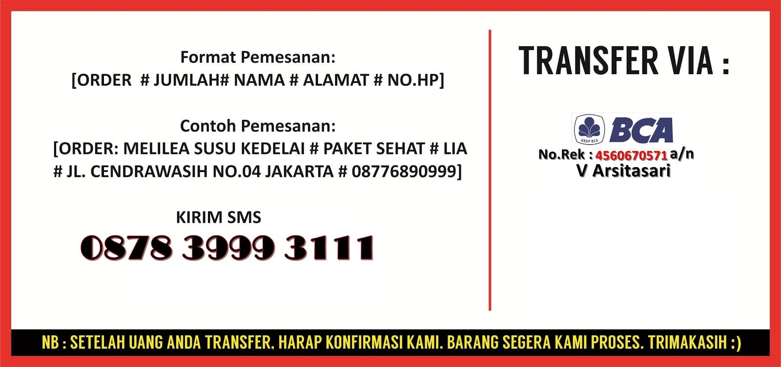 0878 3999 3111 Melilea Skin Care Organik Susu Kedelai Serbuk Indonesia Jakarta Produk Kosmetik