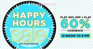 Womens-footwear-happy-hour-sale-60-cashback