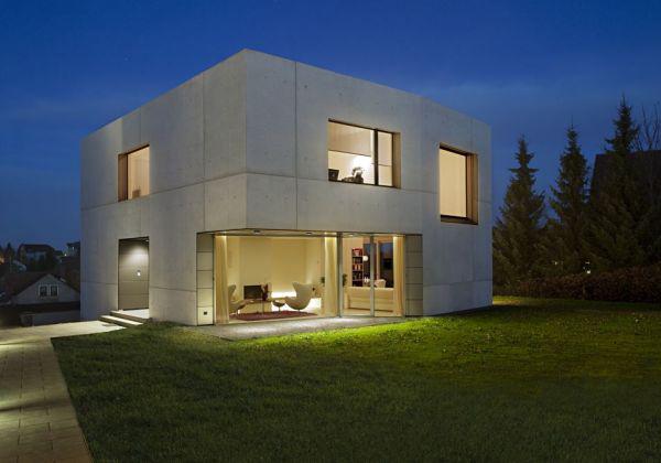 Casas modulares y prefabricadas de dise o casa modular de - Casa de hormigon ...