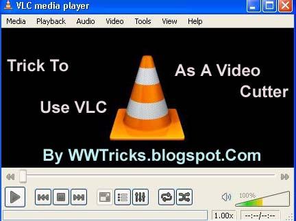 Cut video vlc