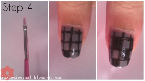 How-to-do-checkerboard-nails-nail-art-tutorial
