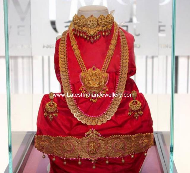 Antique Temple Jewellery PMJ