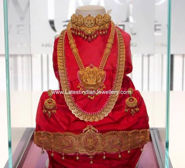 Antique Temple Jewellery PMJ