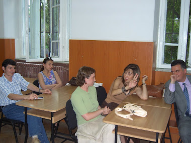 Clasa 9-12 V, revedere in iulie 2006, la 20 de ani dupa liceu, liceul N. Balcescu, Sfantul Sava