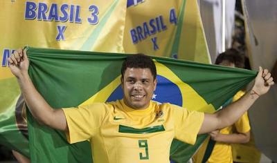Ronaldo se Despidió de su Selección Brasil