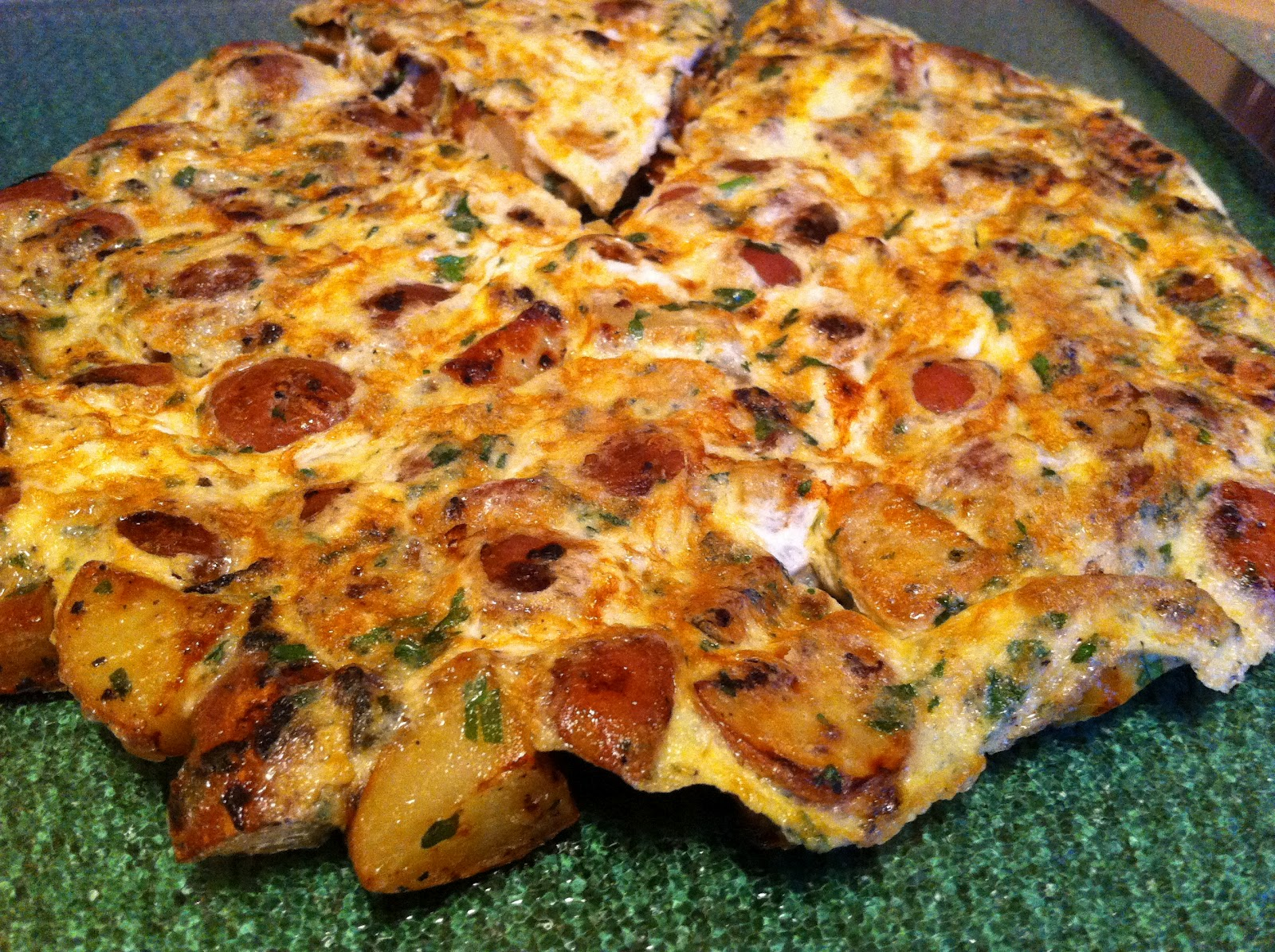 Skinny Simple Recipes: Moroccan Tortilla -Omelette de Patate- with ...