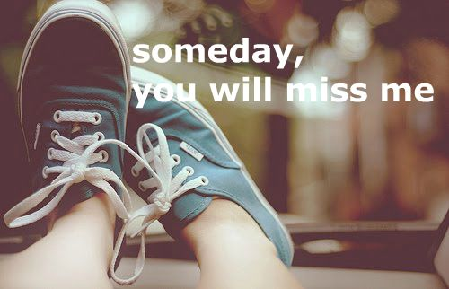 """Someday"""