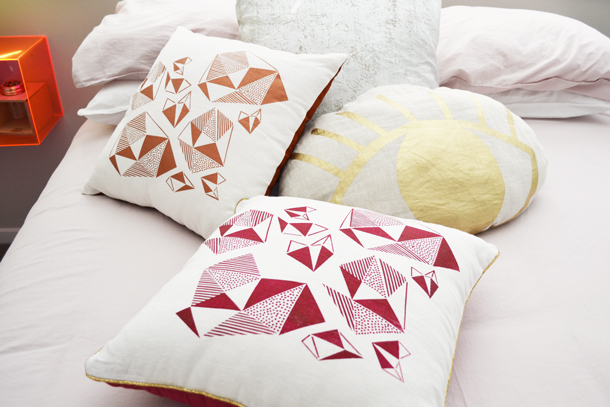 Pattern Play Cushions lifestyle