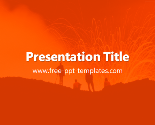 volcano powerpoint template. geography volcanoes authorstream, Powerpoint