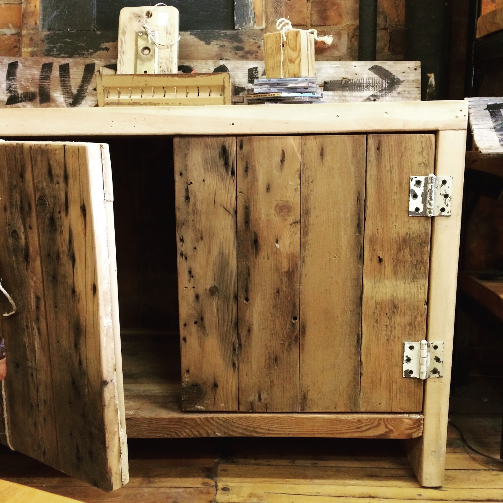Reclaimed Wood Cabinet Doors forever interiors - cabinets