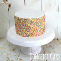 Confetti Cake Tutorial