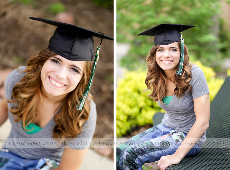 senior photos - Terre Haute photographer
