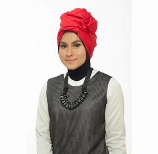 Tutorial Hijab Turban Tumpuk Finish
