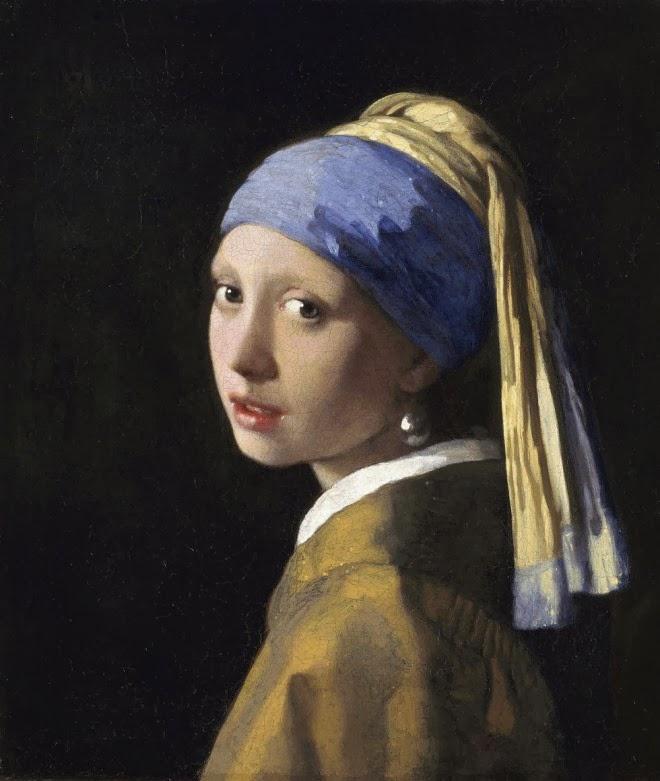 Johannes vermeer famous dutch baroque painter 1632 for Johannes vermeer girl with a pearl earring