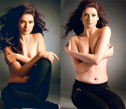 karishma tanna hot topless hd wallpapers