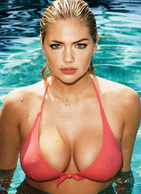 supermodel Kate Upton for GQ JUly 2012