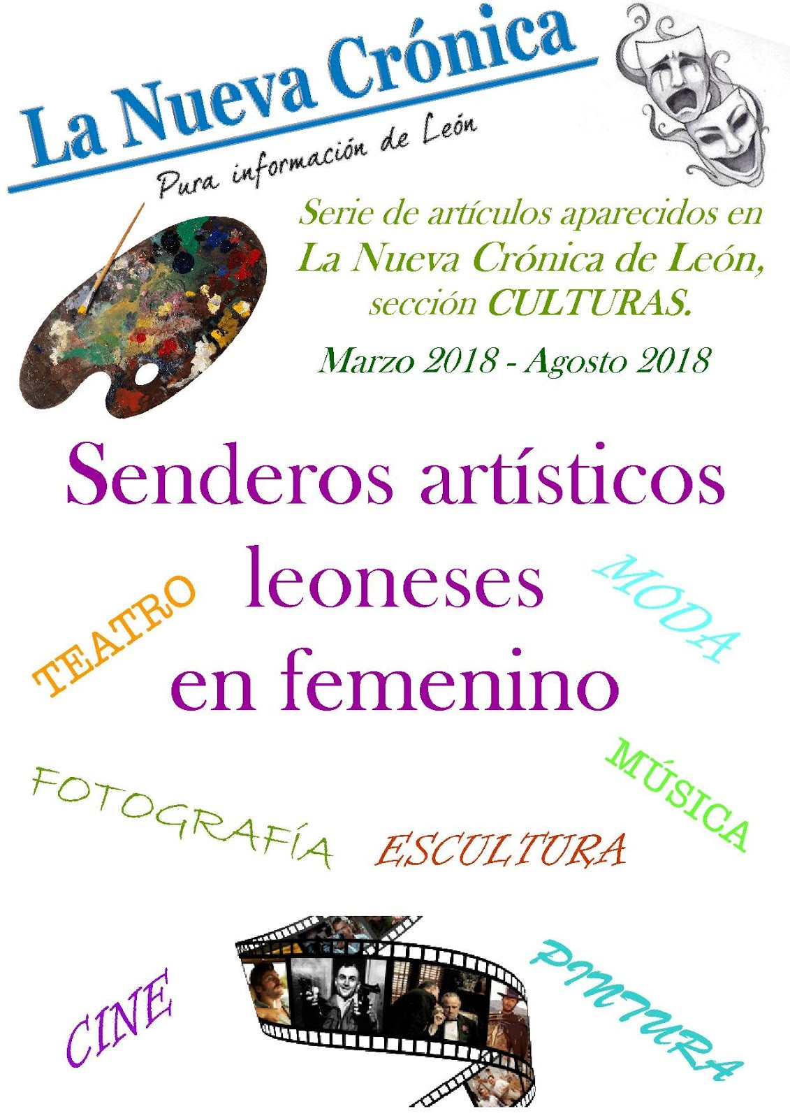 Serie. SENDEROS ARTÍSTICOS LEONESES EN FEMENINO