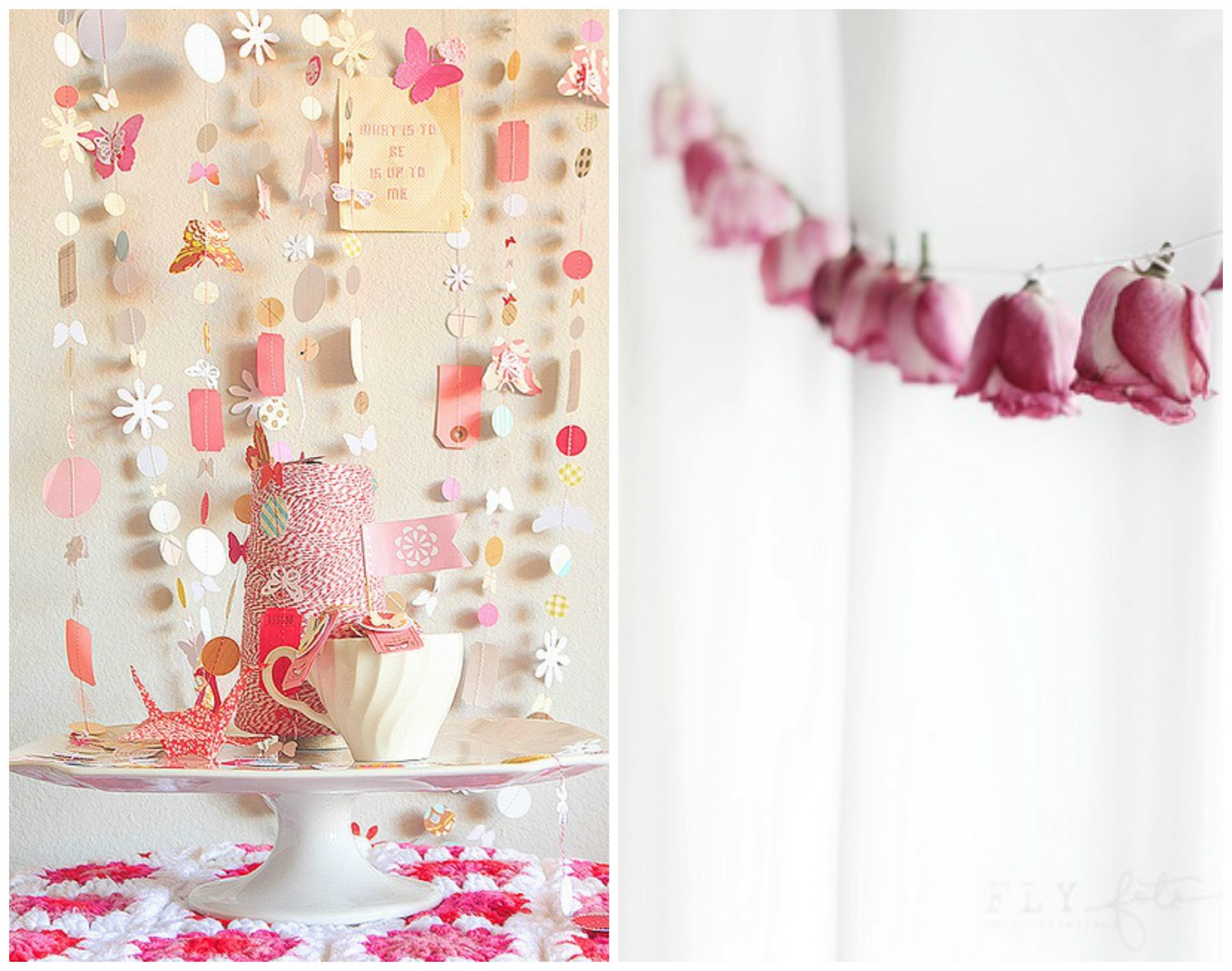 spring fling: spring garlands inspiration by momentstolivefor