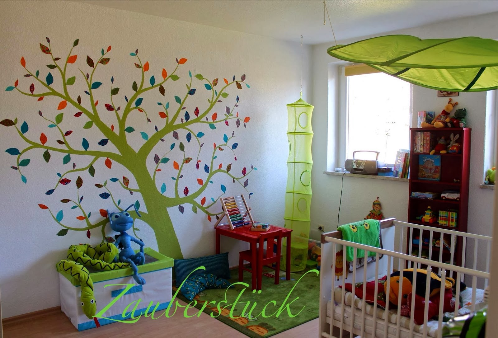 Pam´s Zauberstücke: Projekt Kinderzimmer, Zauberbaum