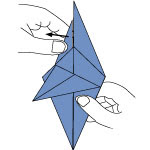 Cara Membuat Origami Ikan Hiu