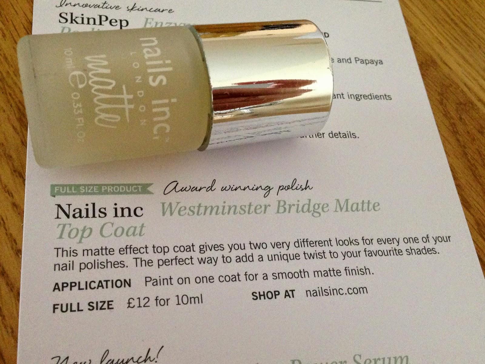 nails inc matte