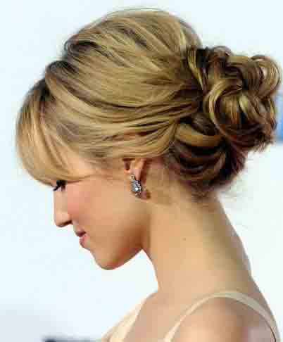 Ladies Fashion Fun: Celebrities Updo Girls Hairstyles 2013