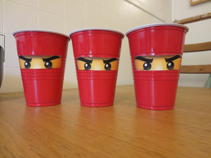 Cups with the eyes, we used those a lot!