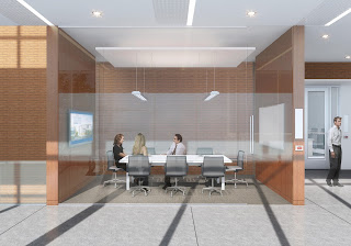 Huntsman Hall student team meeting room
