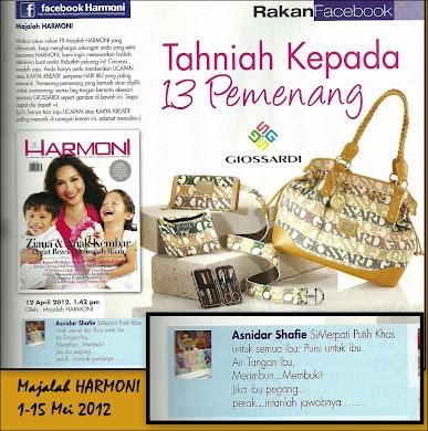 Majalah HARMONI-Mei 2012