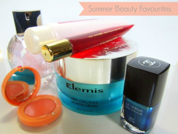 Summer Beauty Favourites Chanel Garnier Elemis Clarins Bourjois