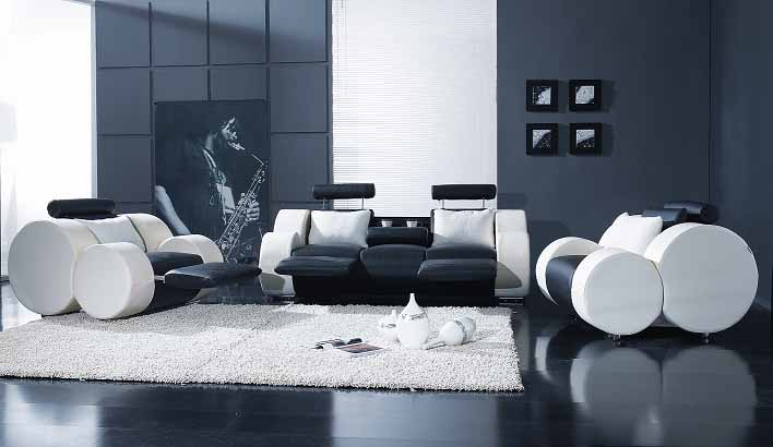 Great Designs Of Living Room With Black Color