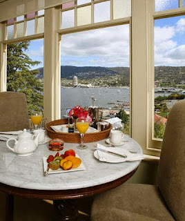 Boutique hotel home swaps Tasmania