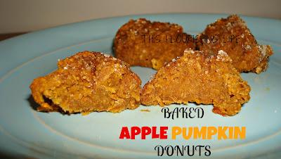 Gluten-Free Baked Apple Pumpkin Donuts
