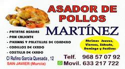 Asador de pollos Martínez