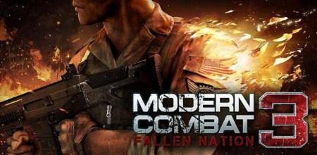 Downwload free Game Modern Combat 3 Fallen Nation For Android OS