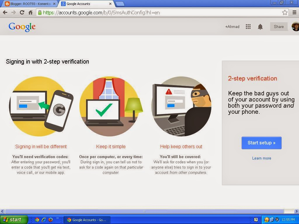 prosedur keamanan google
