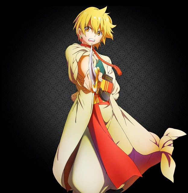 Magi: The Labyrinth of Magic Alibaba Saluja
