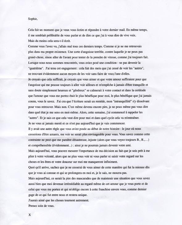 Lettere Di Compleanno D Amore: Senza Dedica: Sophie Calle E L'arte Di Superare Una