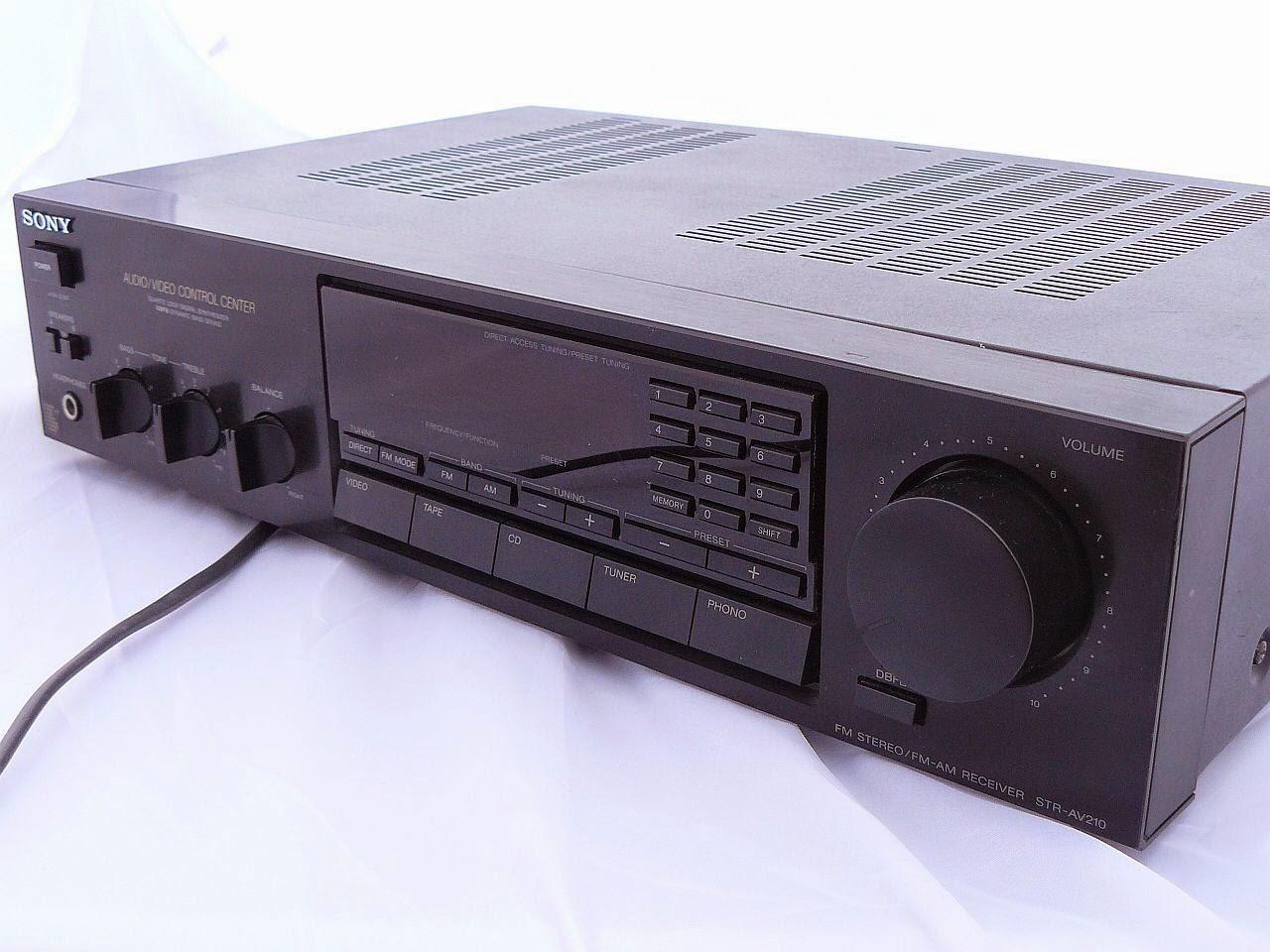 sony av receiver str dh550 manual