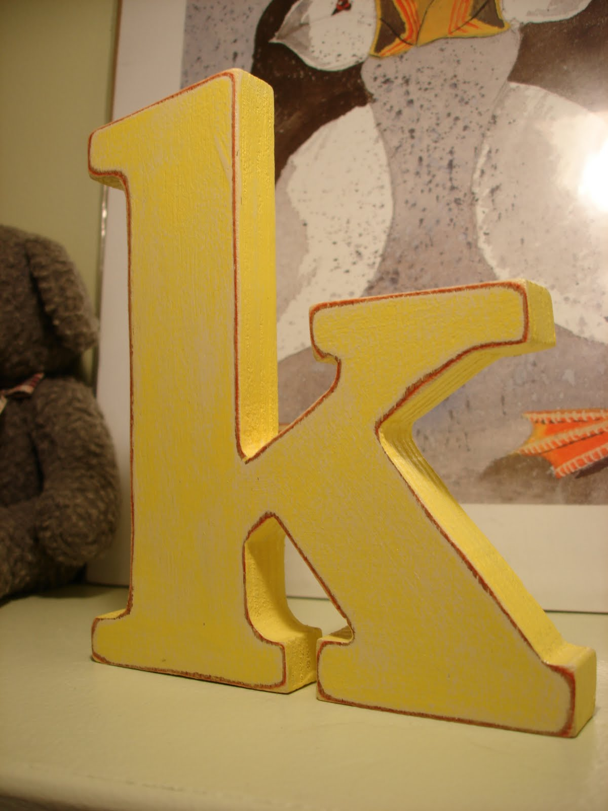 Patent Pending Projects Shop: Childrens Wooden Letters
