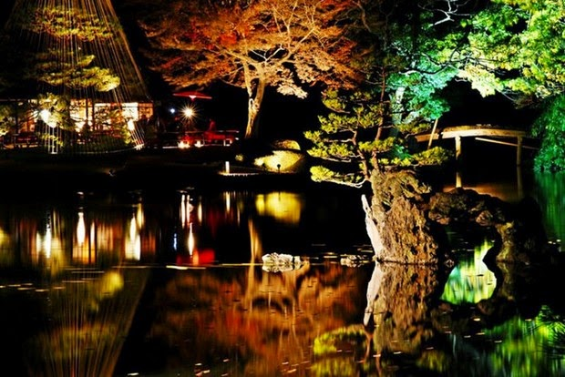 World's most beautiful gardens - Rikugien Garden, Japan