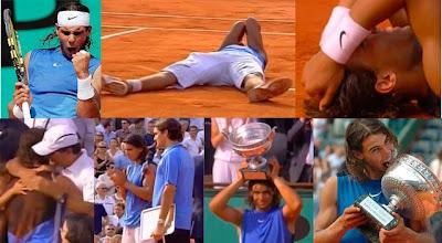Nadal gana la final de Roland Garros 2006 ante Roger Federer