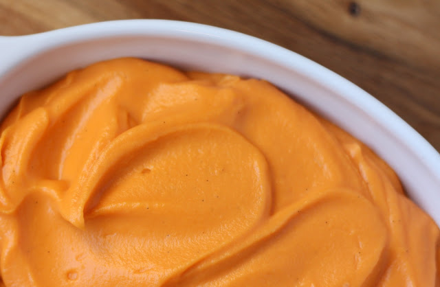 Vanilla Bean Whipped Sweet Potatoes - 5 Favorite Thanksgiving Side Dish recipes by Barefeet In The Kitchen