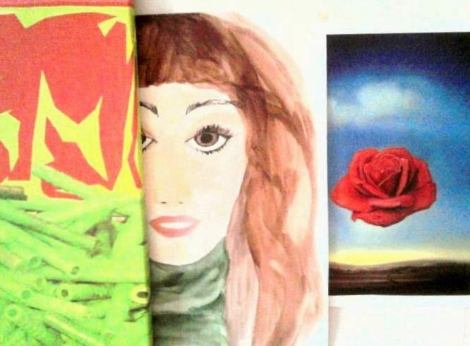 Otra pincelada mas, otro suspiro... otra sonrisa al corazòn, una flor ... Vida!