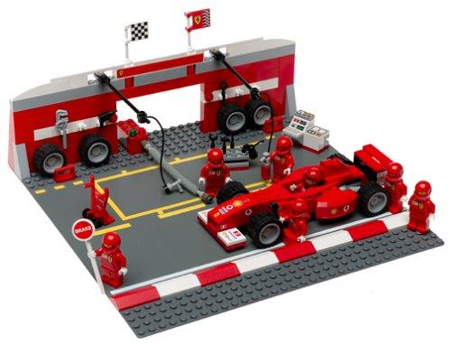 Not Mclaren F1 Official Website Lego Ferrari F1 Pit Set