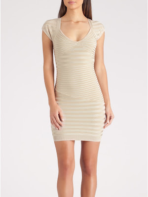GUESS by Marciano Leah Rib Cap Sleeve Dress