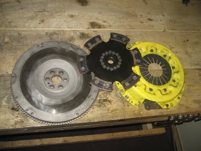 ACT Clutch unsprung puck and pressure plate