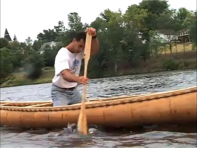 18foot Agwiden Penobscot Birchbark Ocean Canoe